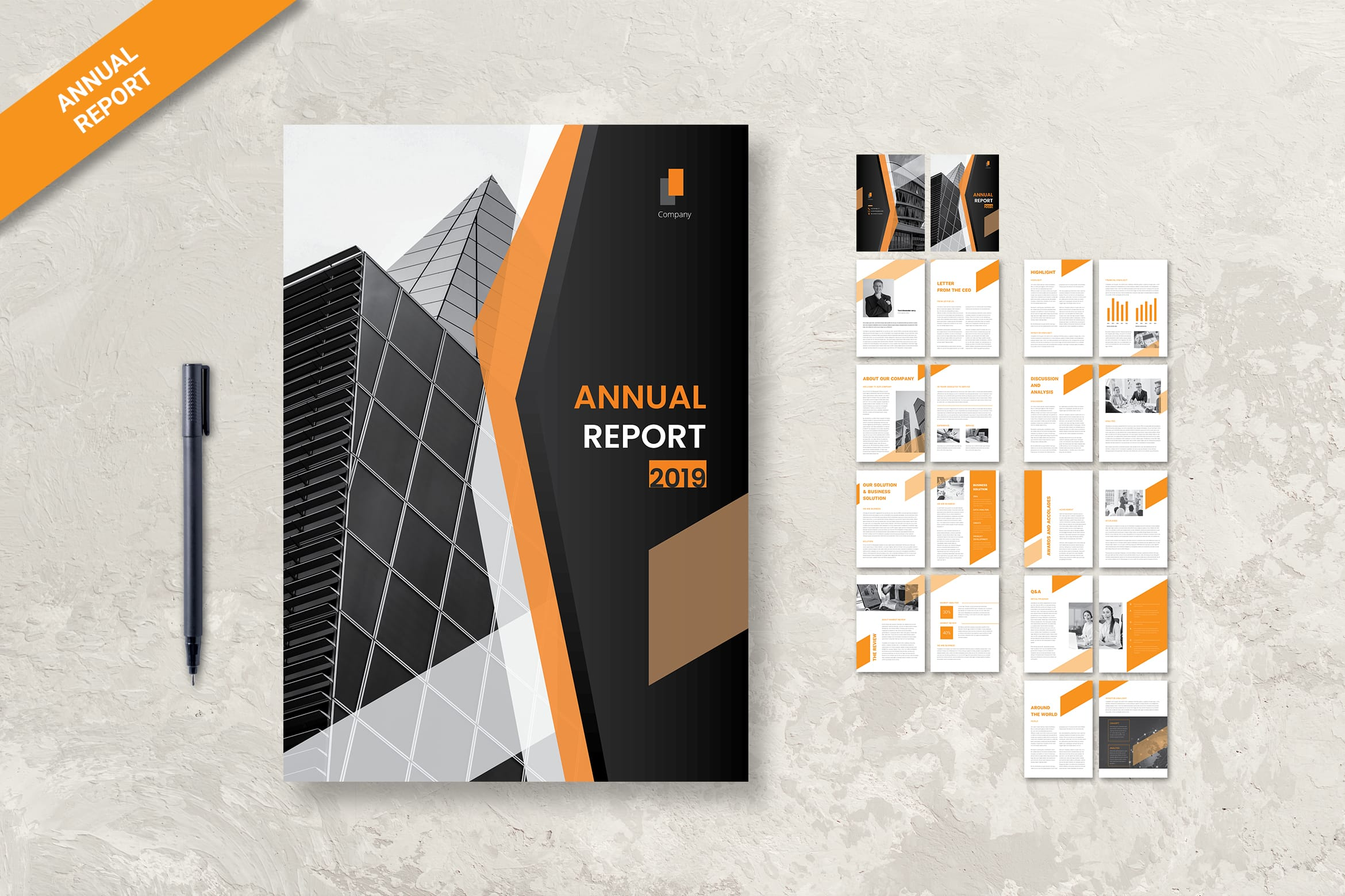 Annual Report - Business Solution