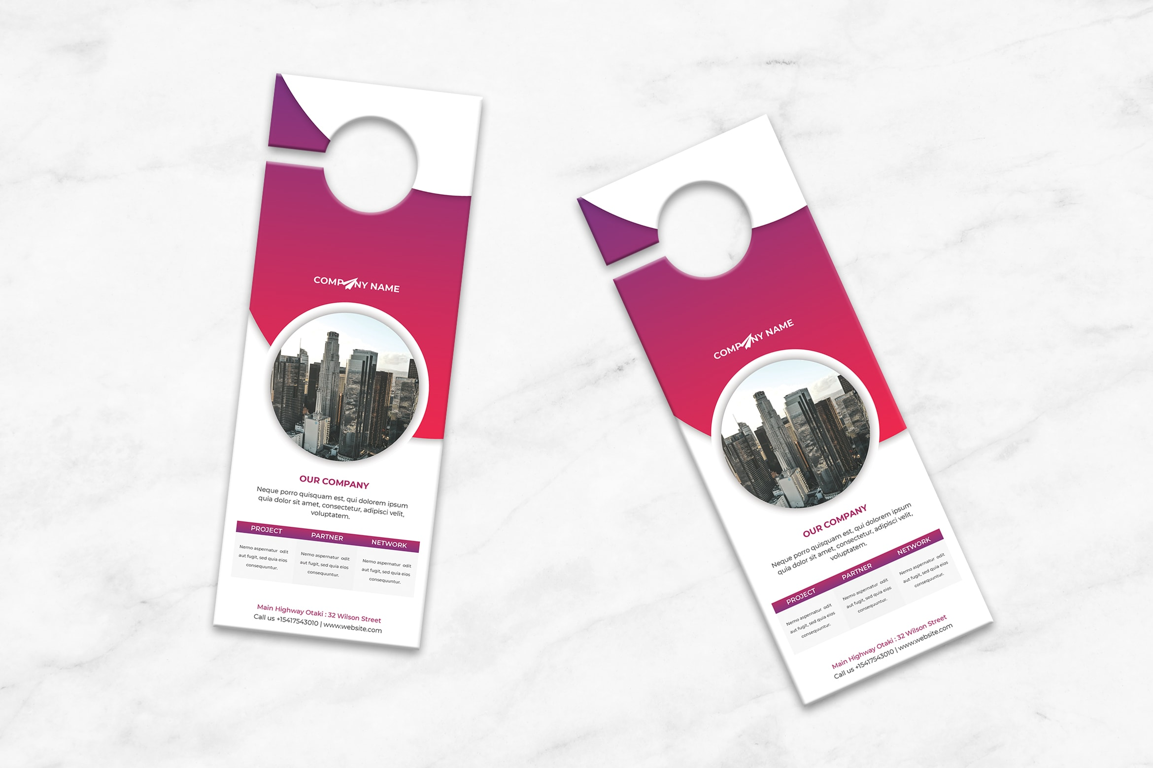 Door Hanger - Company Profile