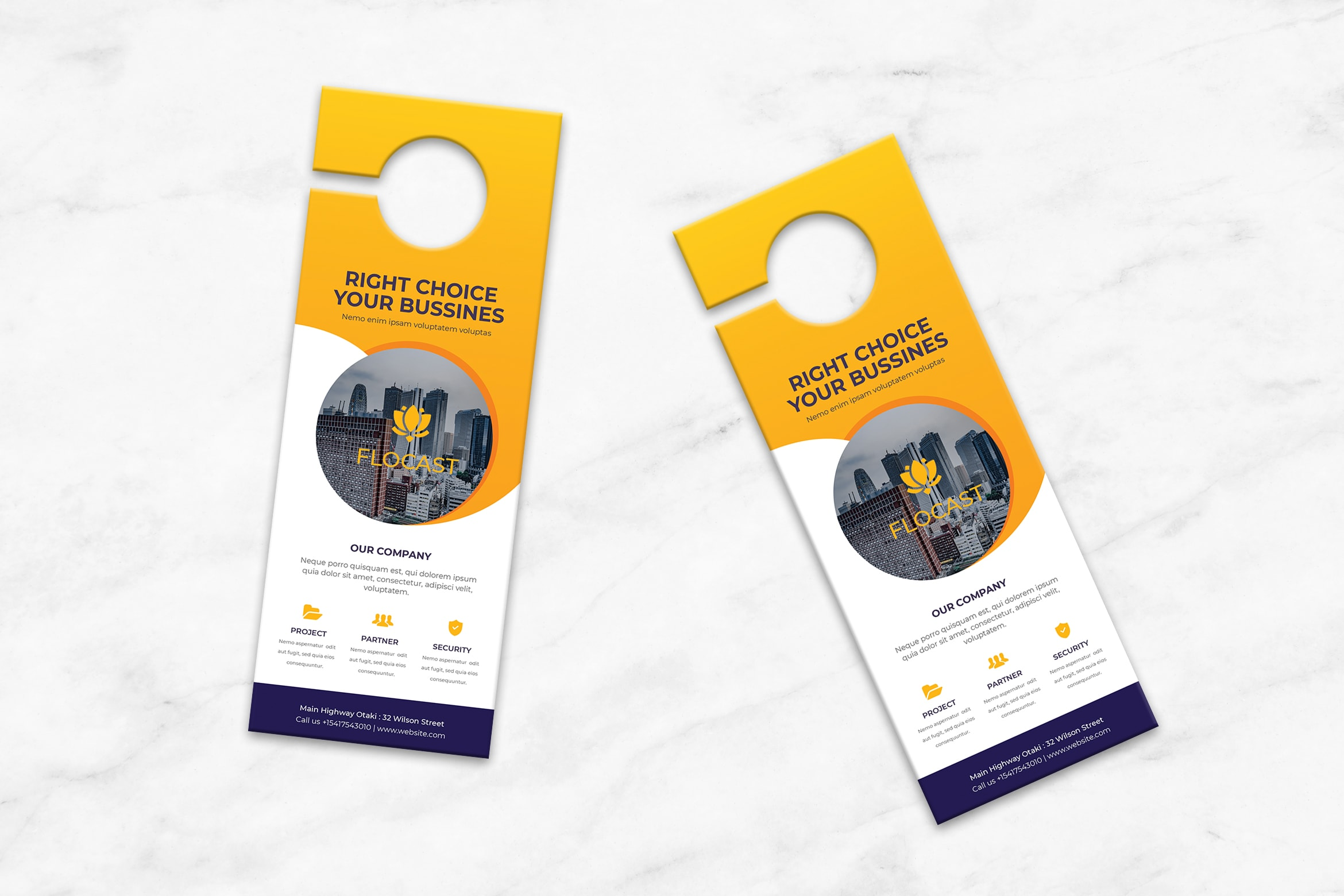 Door Hanger - Business Partner