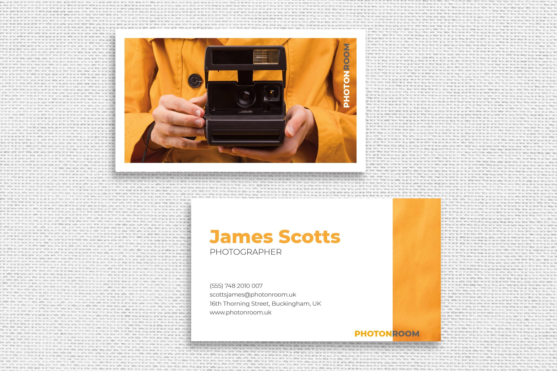Photographer Identity Template
