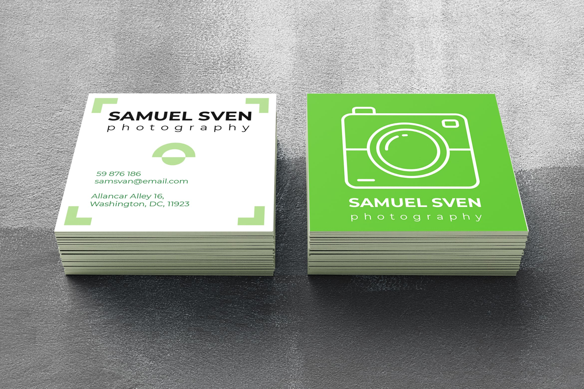 Business Card - Photography Professoinal
