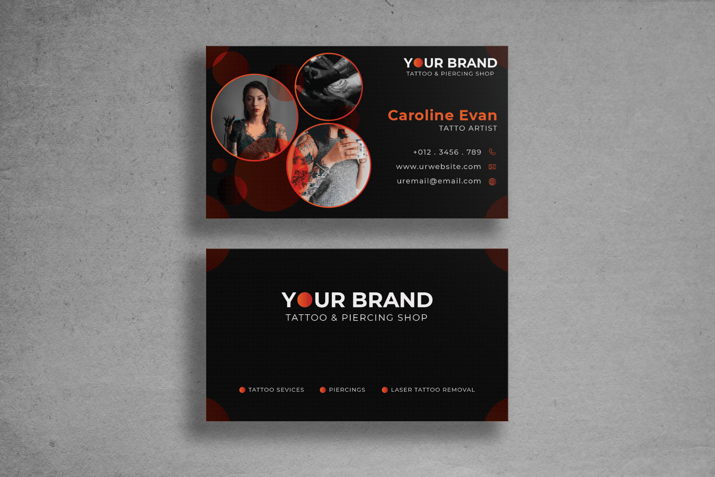 Business Card - Tattoo Artist Brand