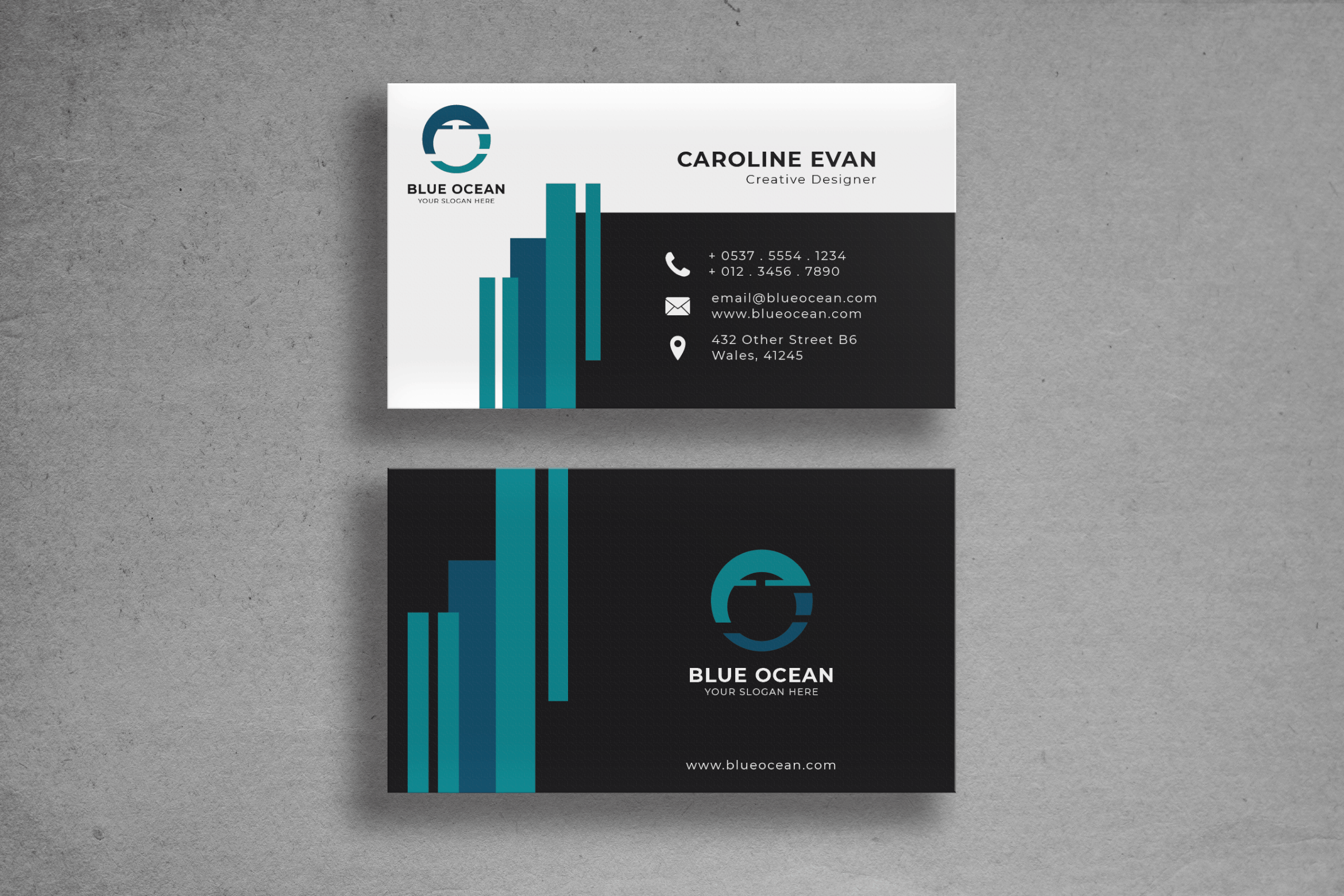 Business Card - Creative Designer Identity