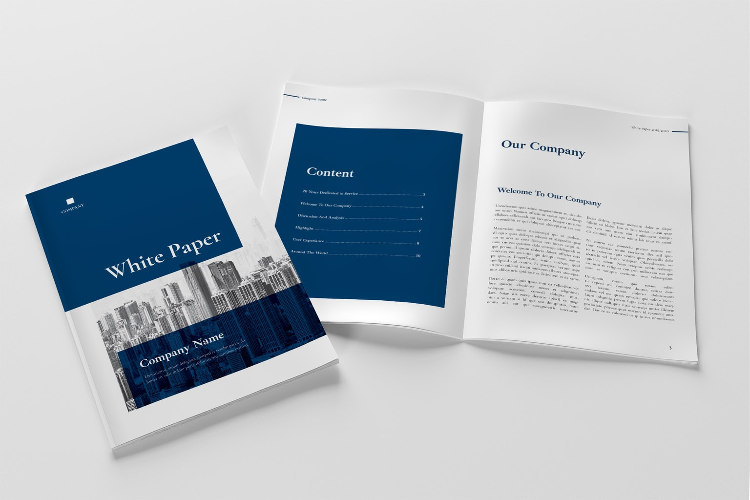 White Paper - Corporate Report