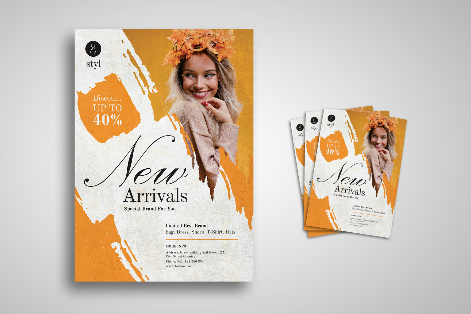 Flyer Template - Special Fashion Brands