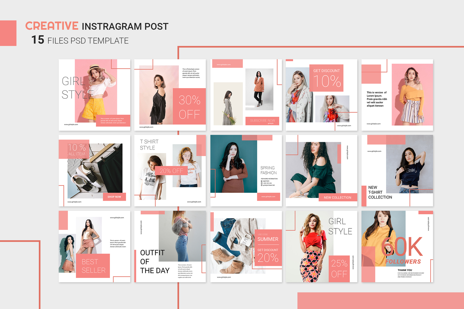 Instagram Banner - Women's Clothing Collection