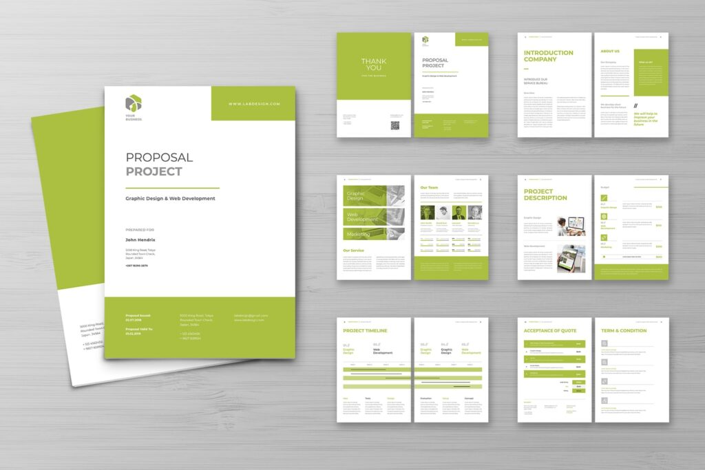 Proposal – Graphic Design Project