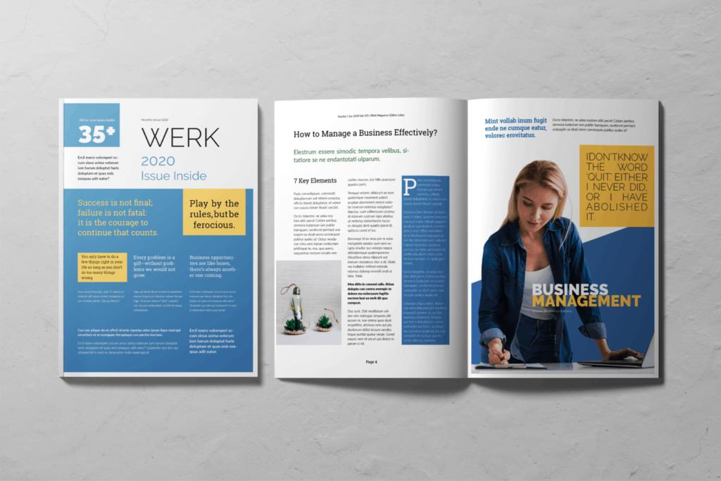 Business Magazine – Venture Management