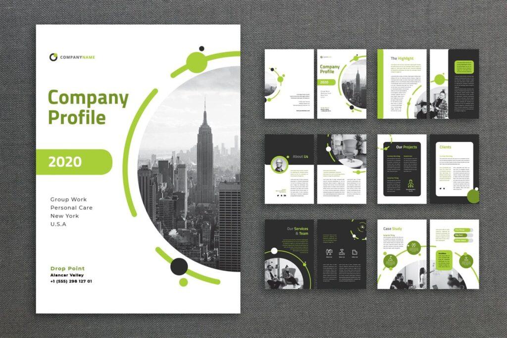 Company Profile – Creative Planner