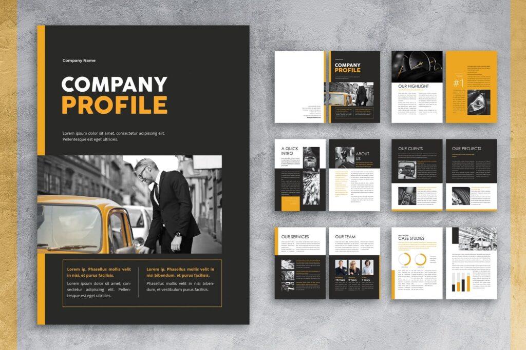 Company Profile – Car Repair