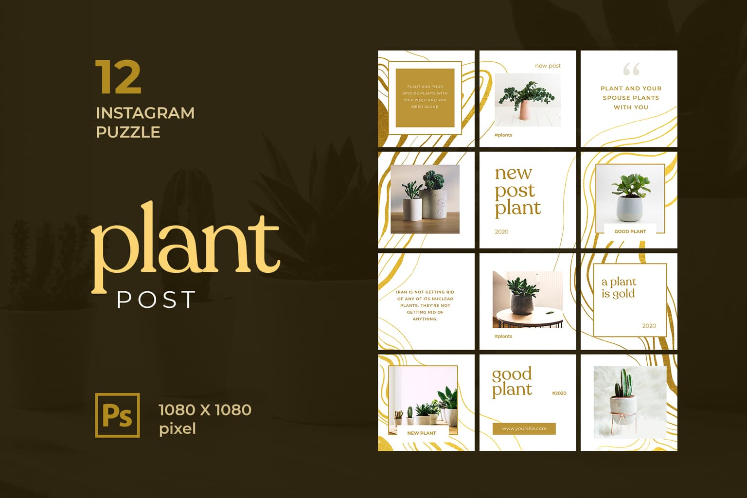 instagram puzzle – good plant