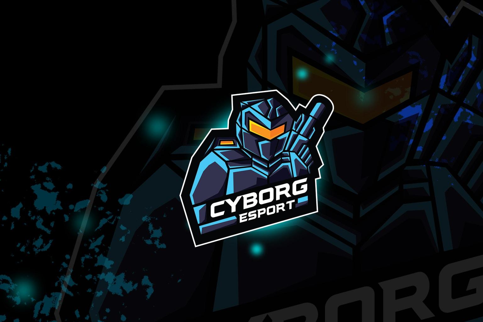 esport logo – cyborg army