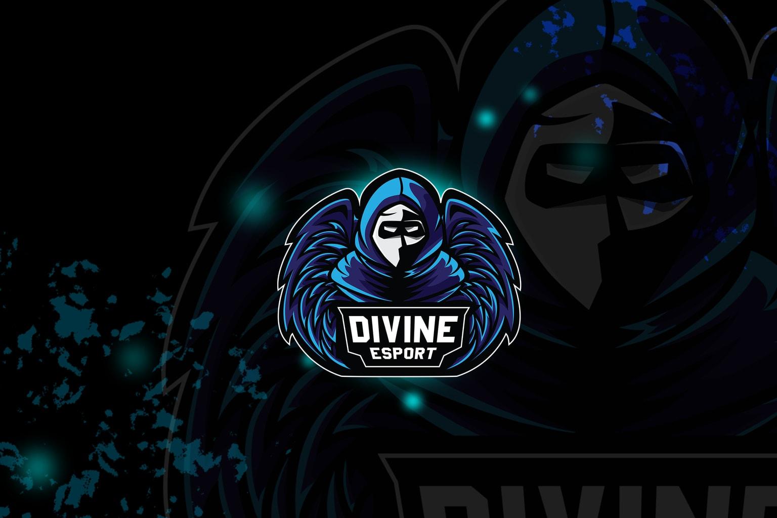 esport logo – divine shadow