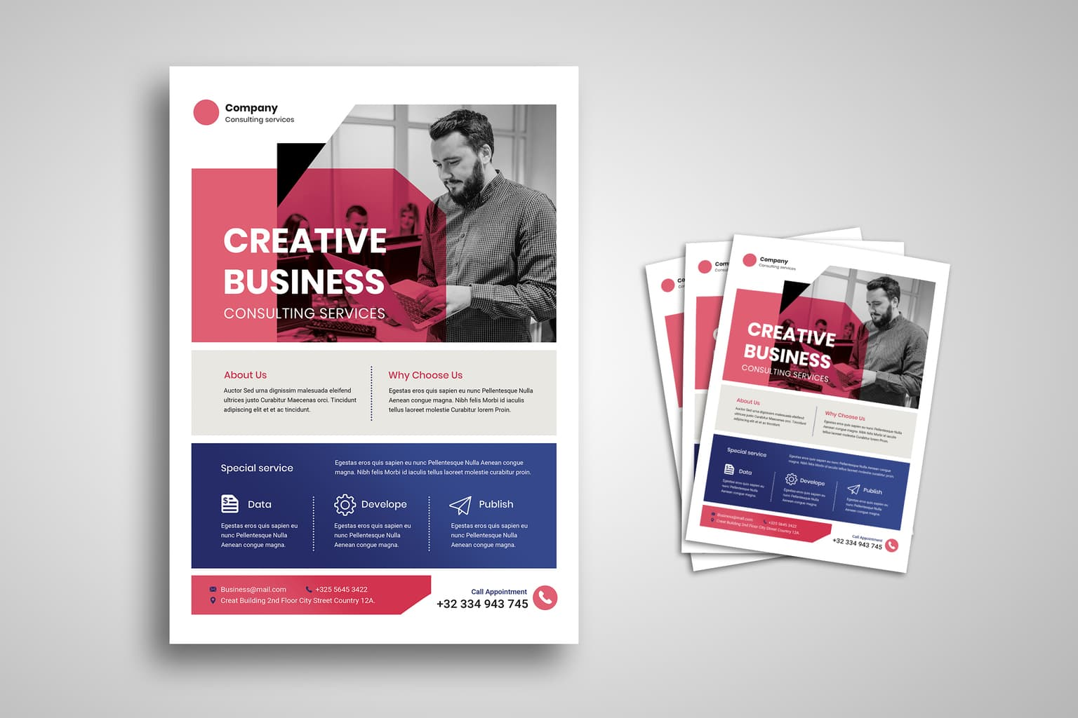 flyer creative business services