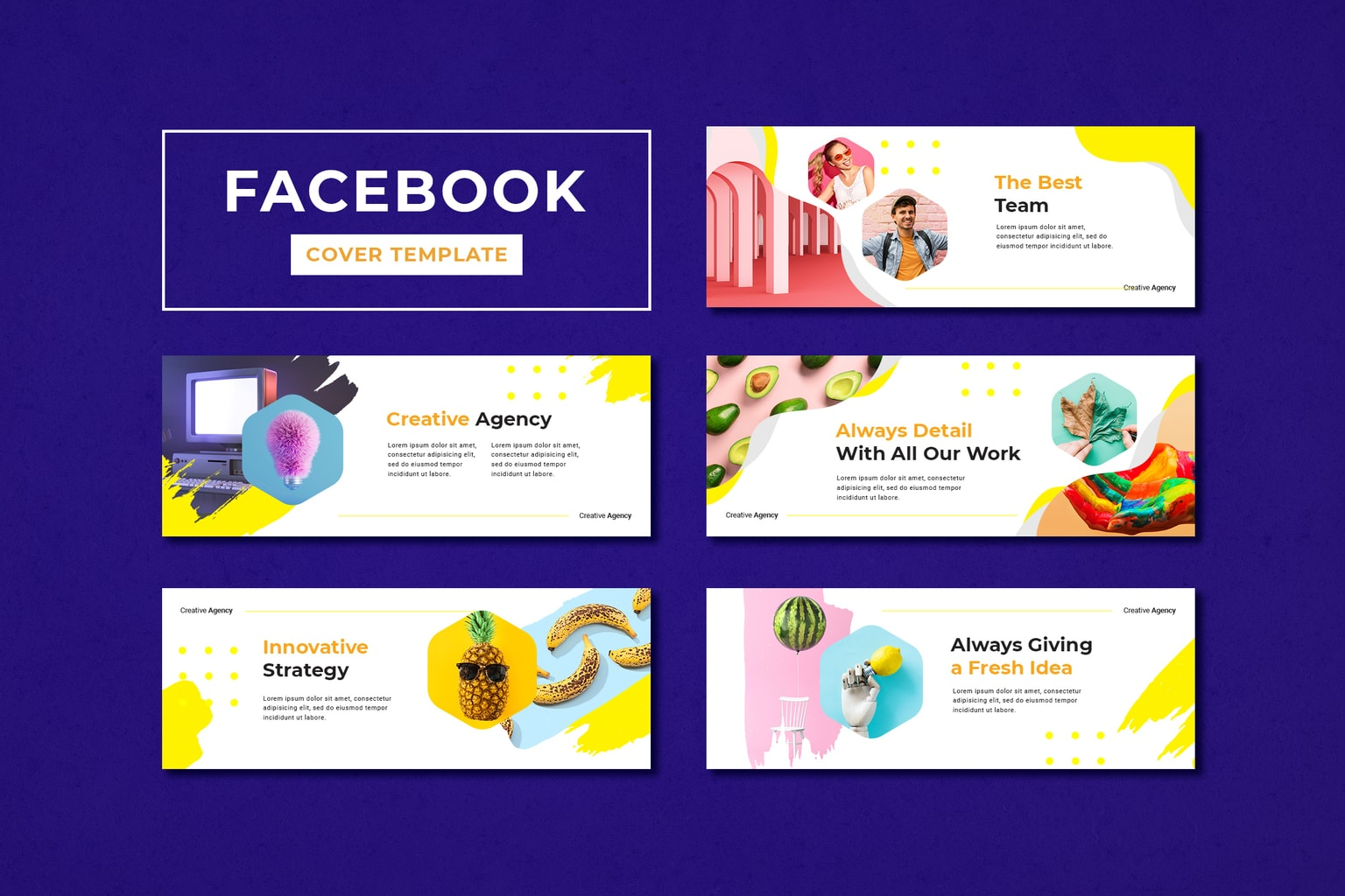 facebook cover professional creative agency