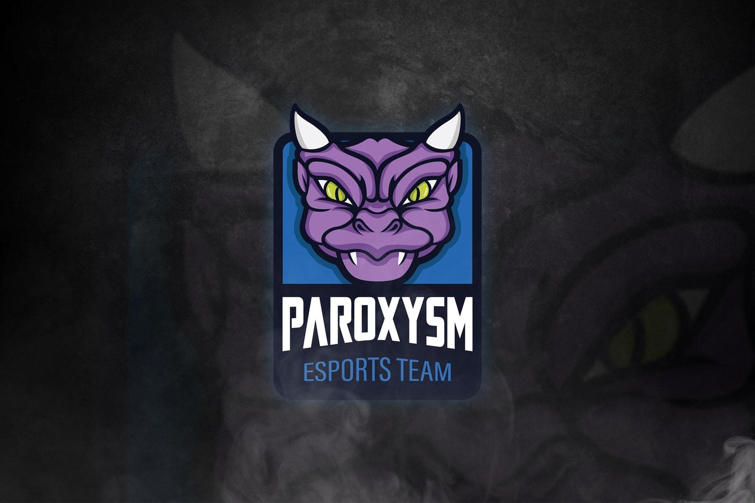 esport logo paroxysm team