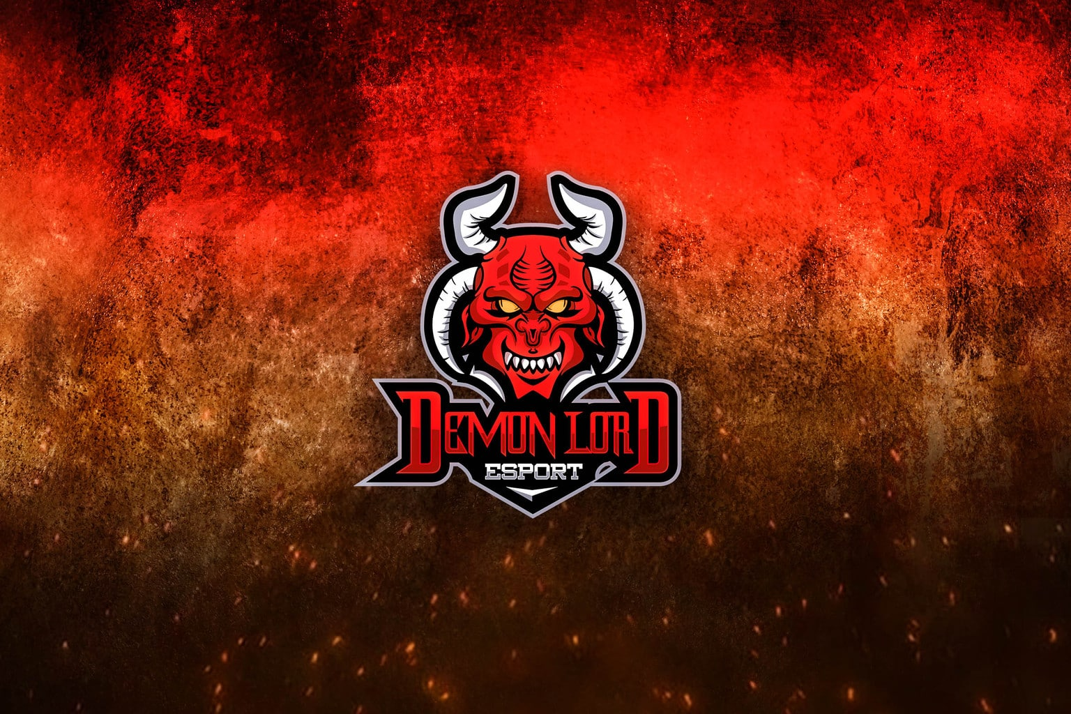 esport logo demon lord