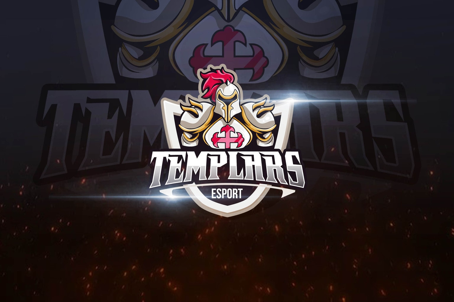 esport logo knight templar