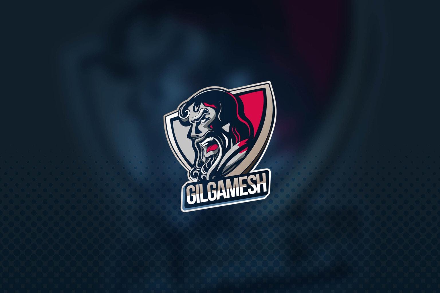 esport logo the king gilgames