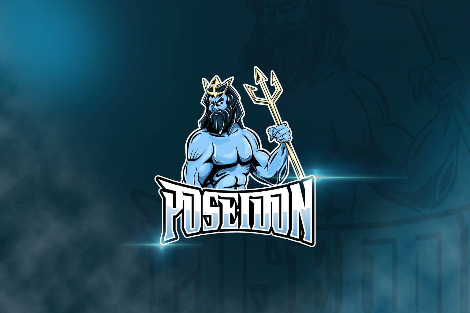 esport logo the poseidon
