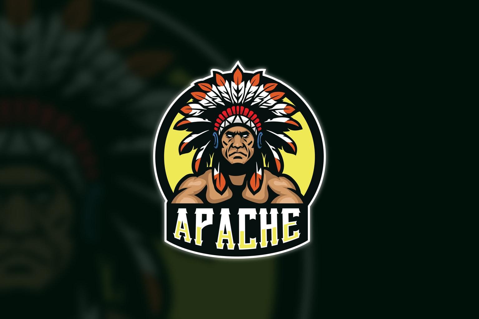 esport logo swarm of apache