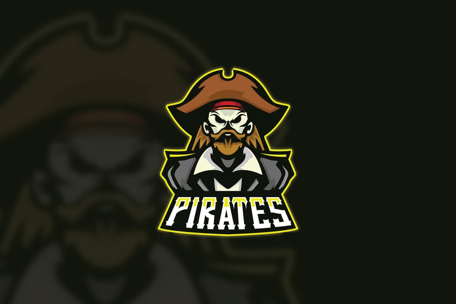 esport logo pirate authority
