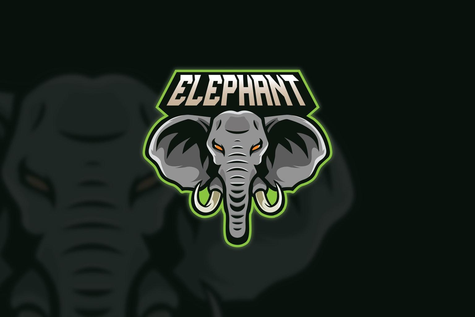 esport logo wrath elephant