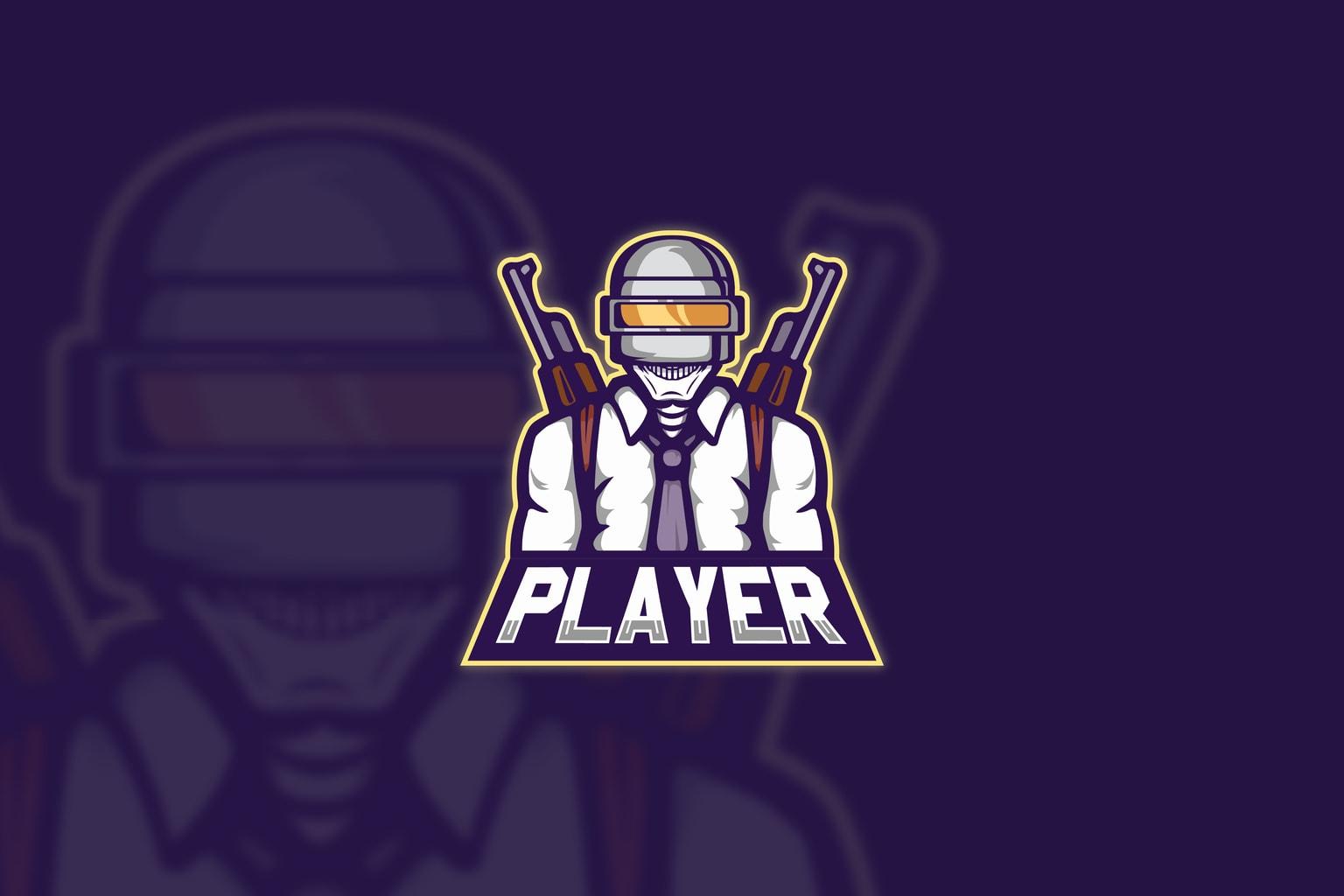 esport logo mobile player