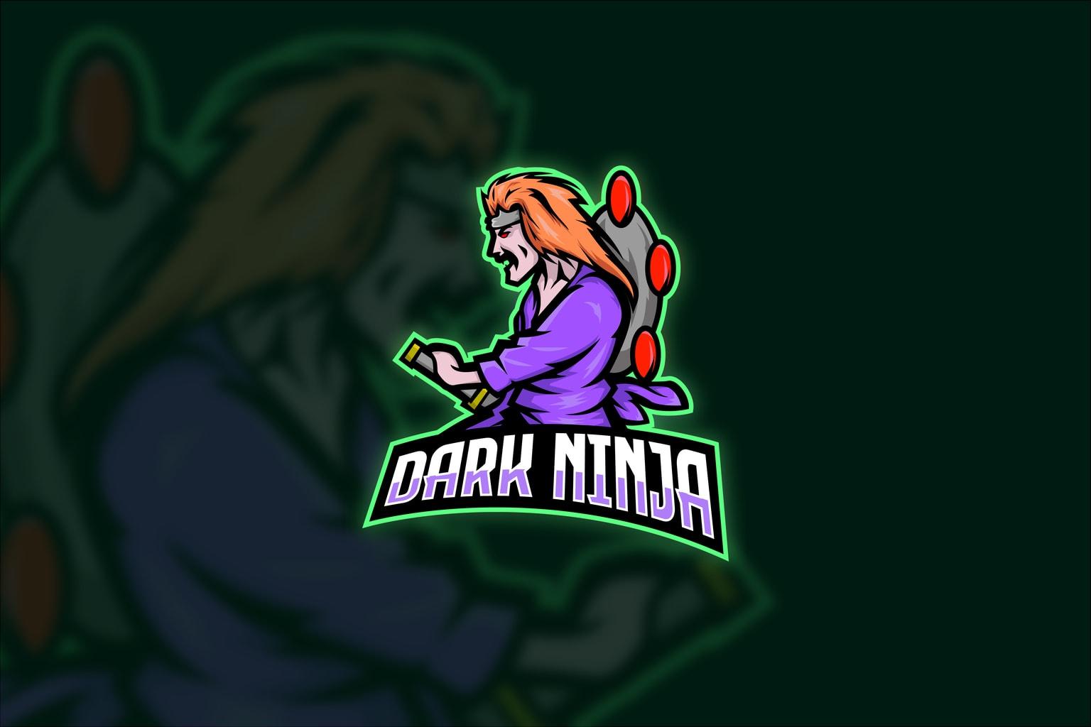 esport logo dark ninja