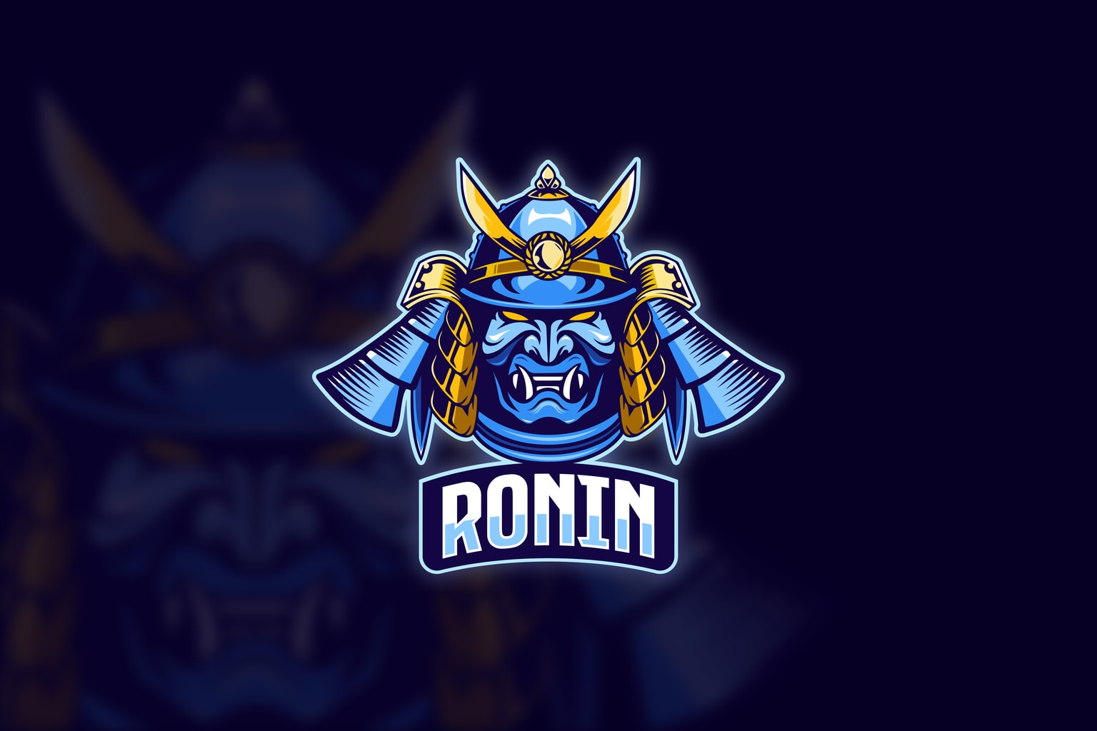 esport logo cruel ronin
