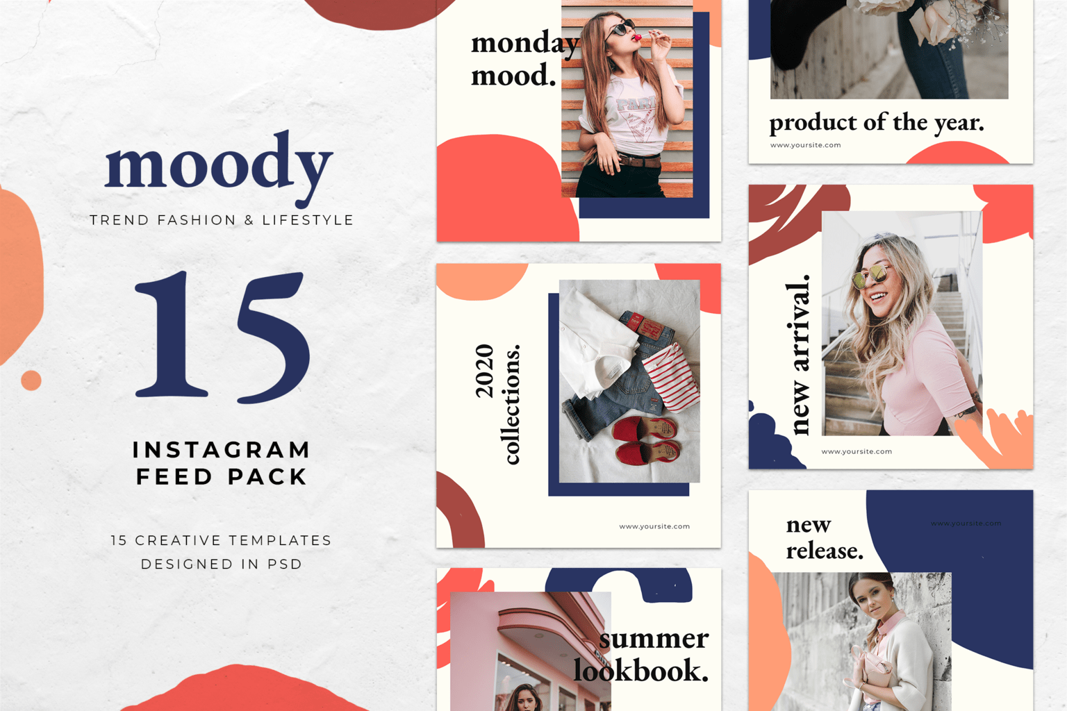 instagram banner moody casual fashion 5