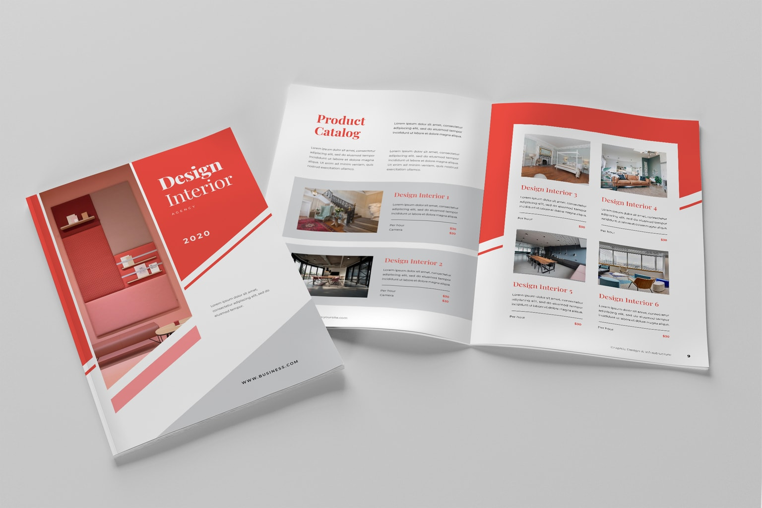brochure special design interior 3