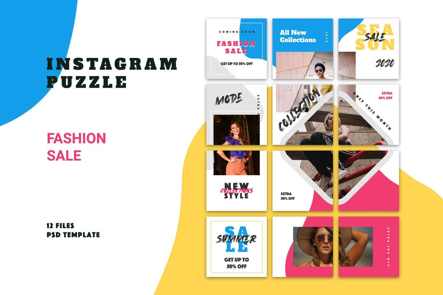 instagram puzzle summer sale collection 4