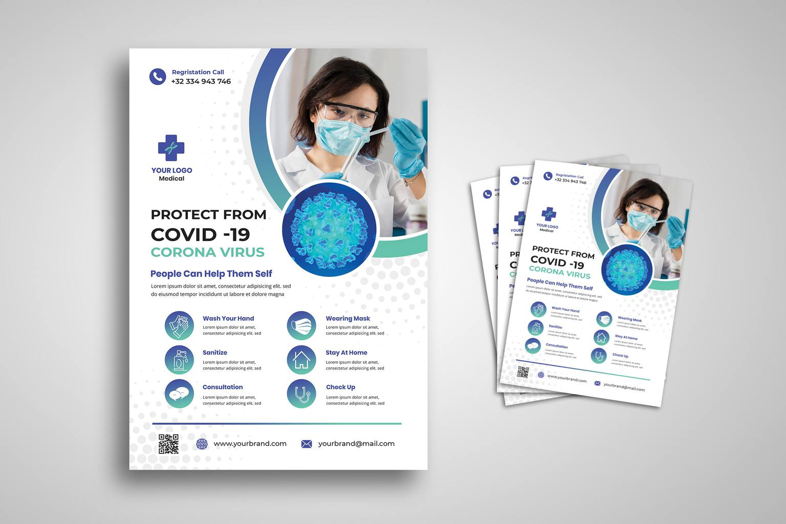 flyer alert covid 19
