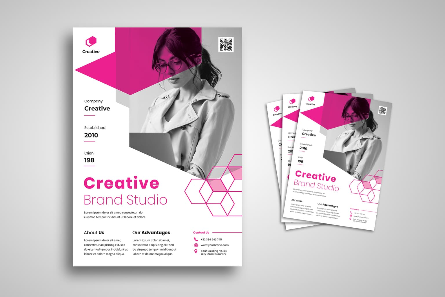 flyer creative brand studio 1