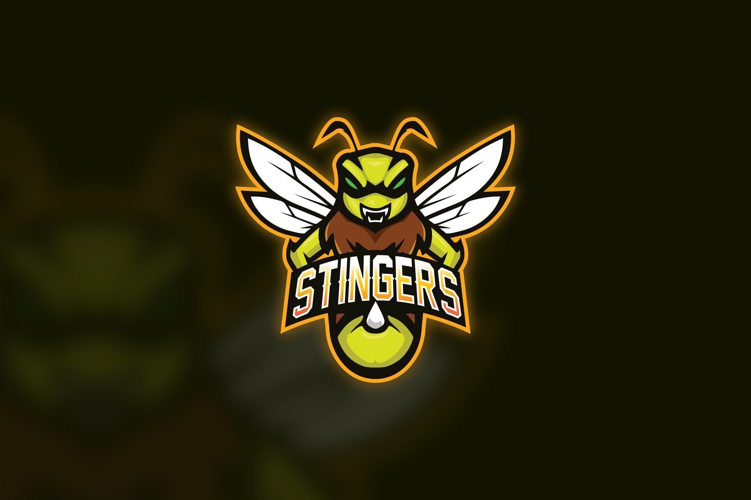 esport logo the stinger