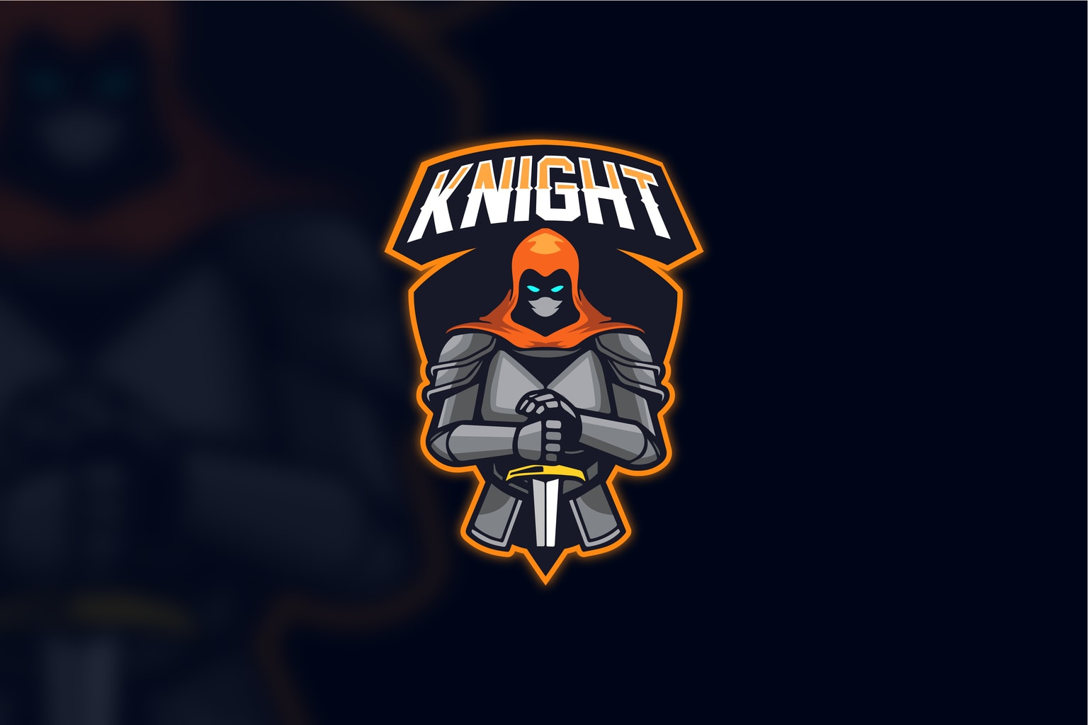 esport logo shadow knight
