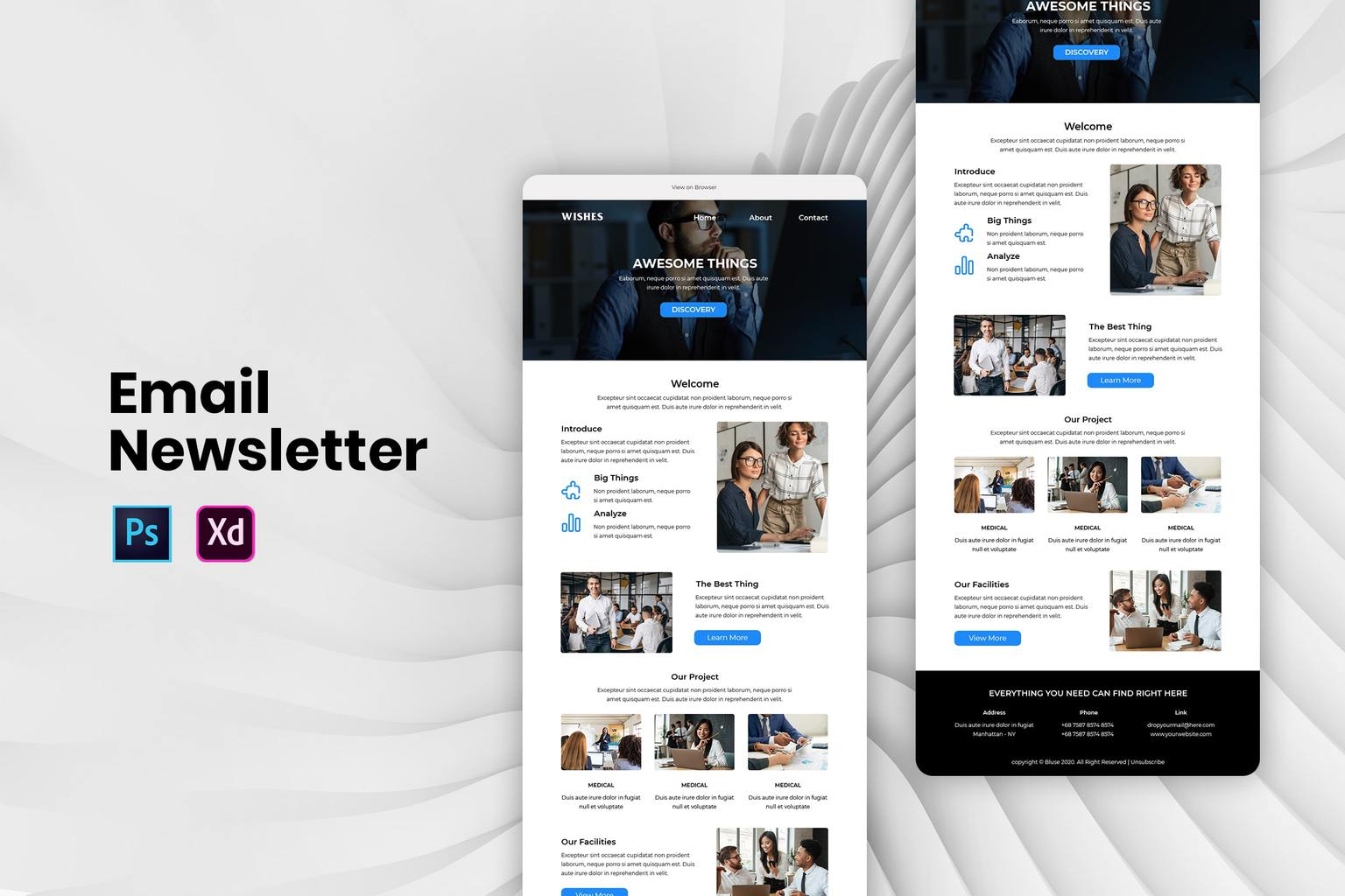 analyze development product email newsletter