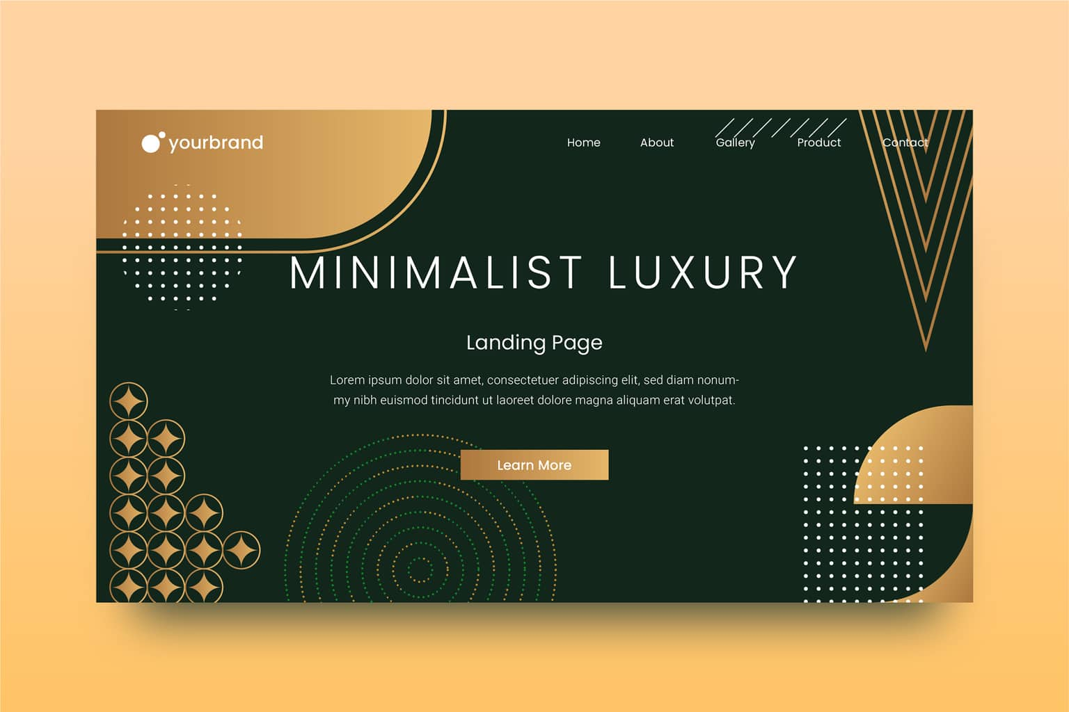 abstract background minimalist luxury design