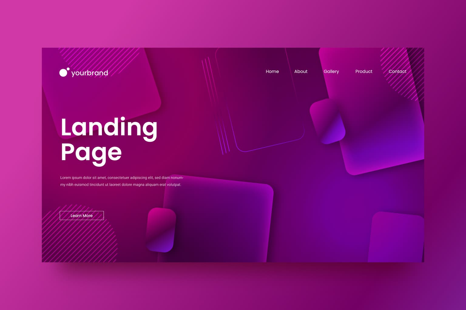 abstract background square gradient theme