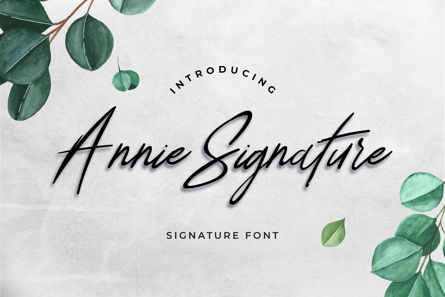 fonts annie signature 1