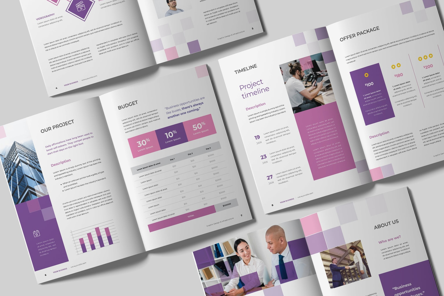 proposal business templates