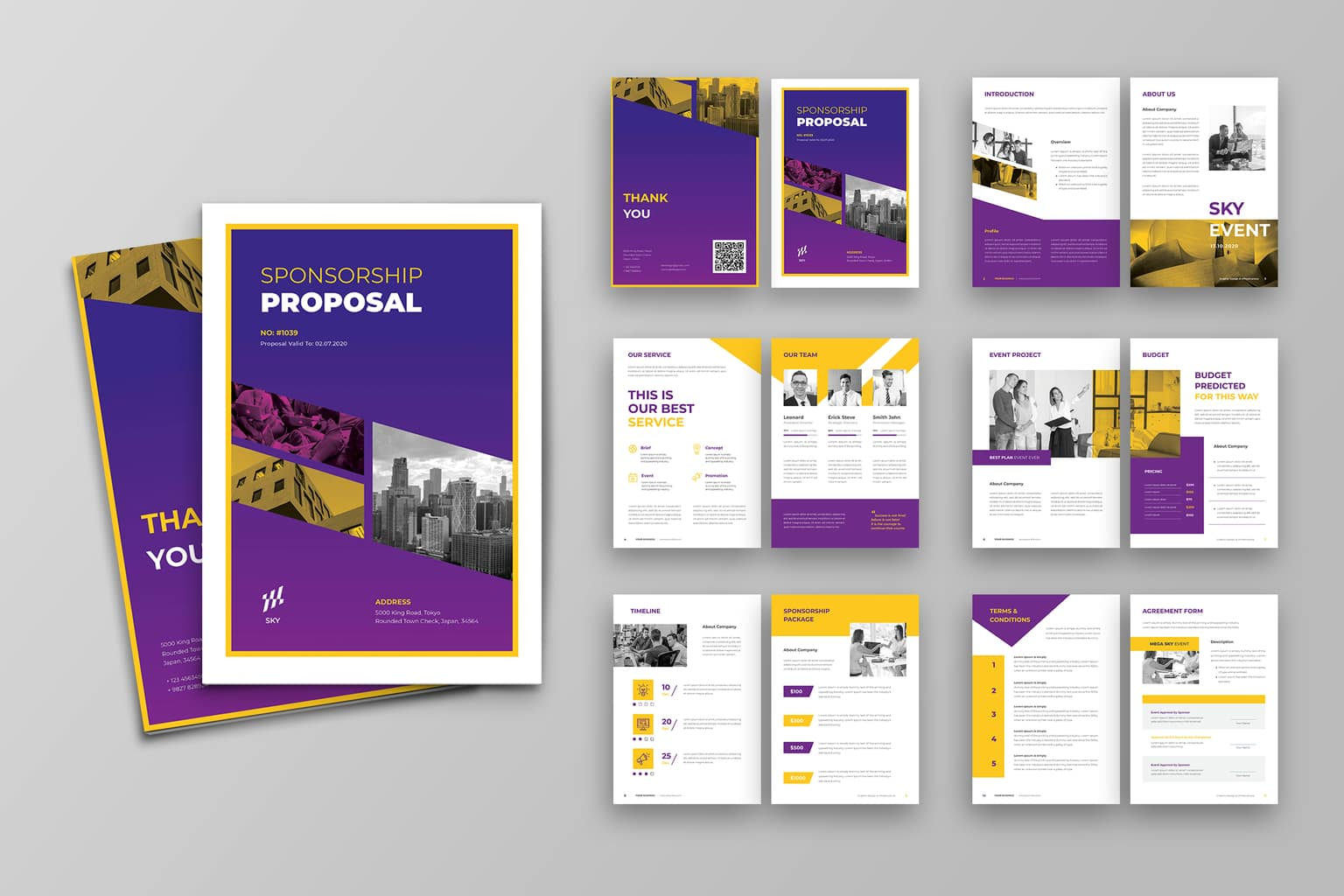 proposal purple company profile