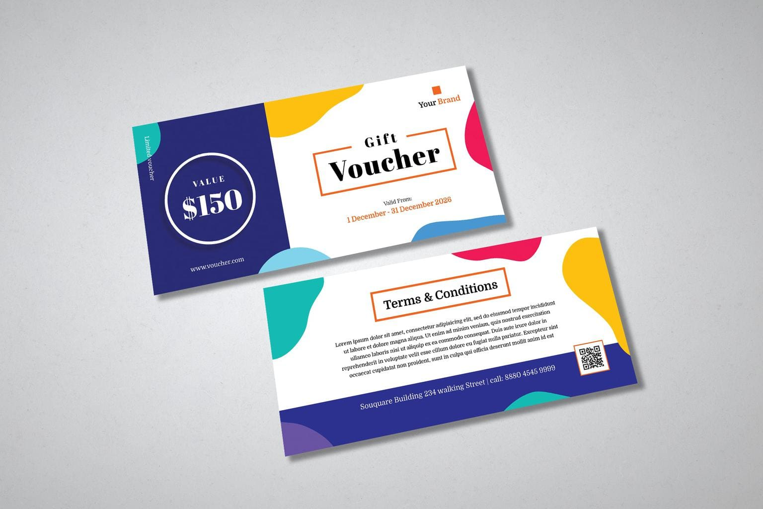 gift card voucher limited brand offer