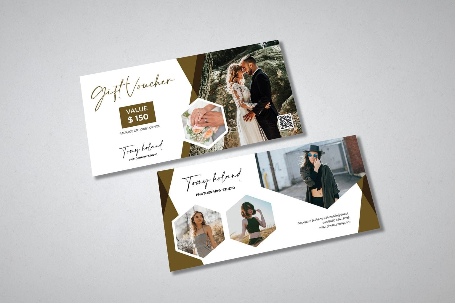 gift card voucher romantic wedding moment 1