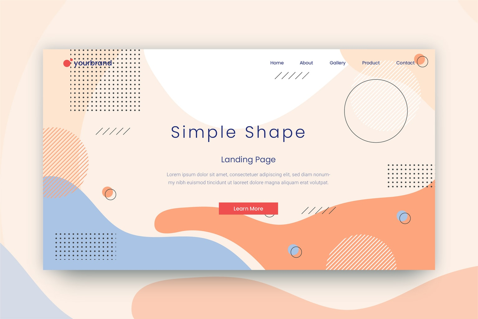 abstract background simple shape elements