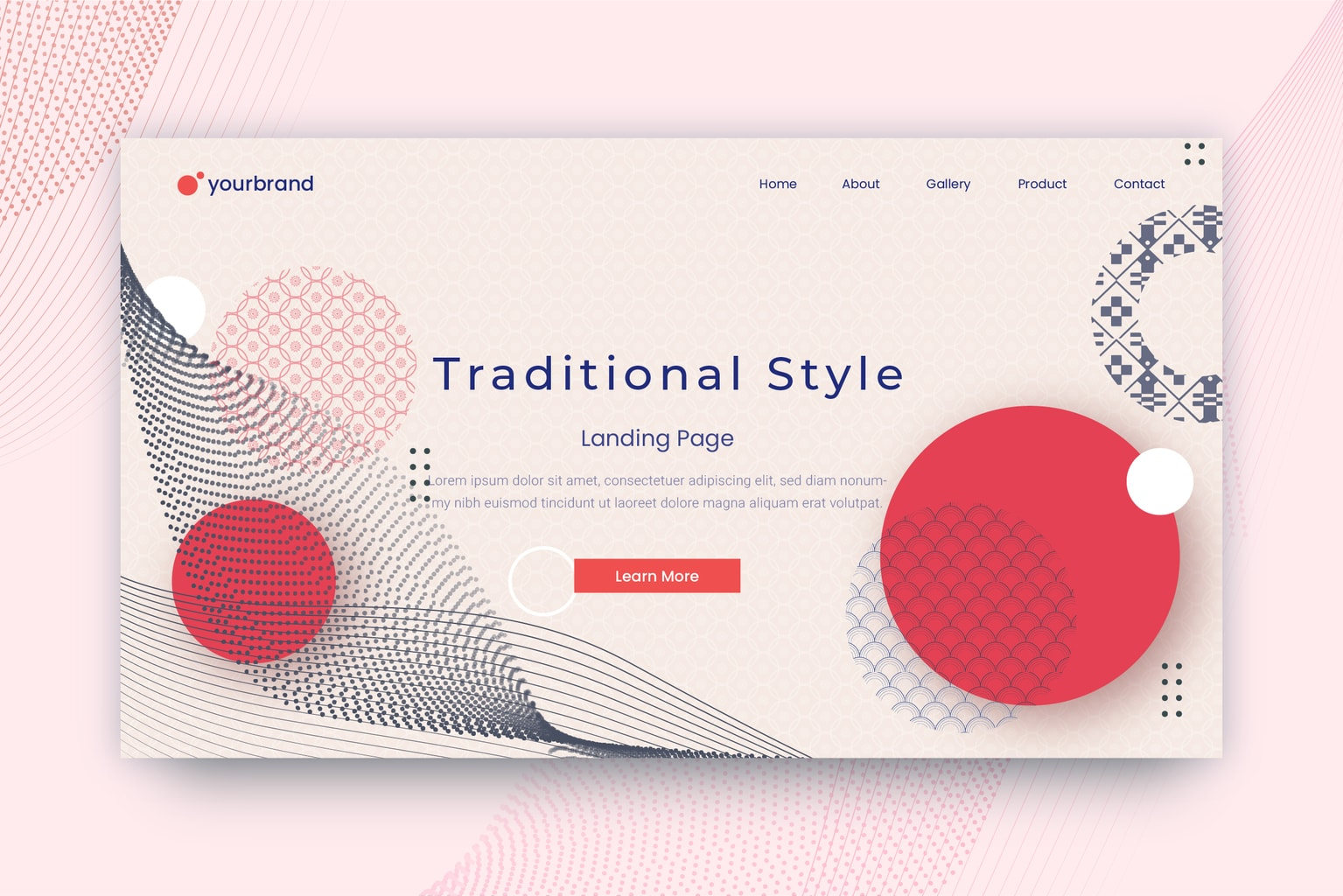 abstract background japanese traditional themes