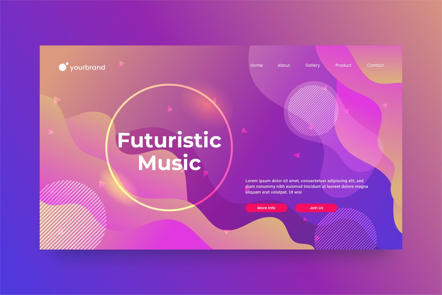 abstract background fluid gradient shapes