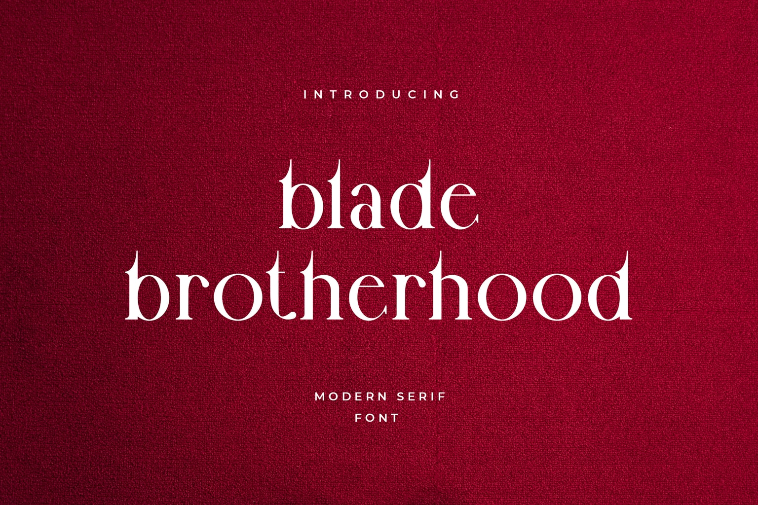 fonts blade brotherhood