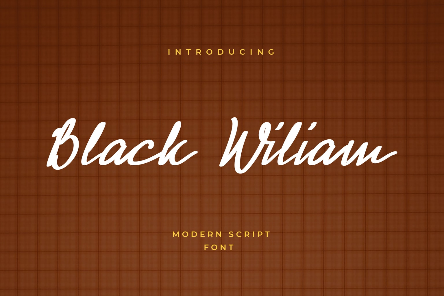 fonts black wiliam modern script